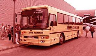 busrejser fra jylland